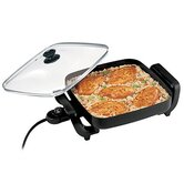Nonstick Electric Skillet