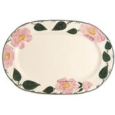 Wildrose Oval Platter