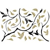 Euro Modern Tree Wall Decal