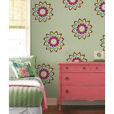 WallPops Dots Blox Stripes Zsa Zsa Dot Decals (Set of 12)