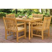 Classic Patio 5 Piece Dining Set
