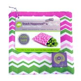 Snack Happened Reusable Snack Bag in Little Miss Zig Zag