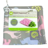 Snack Happened Reusable Snack Bag in Urban Jungle Pink