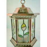 Large 1 Light Closed Flower Garden Landscape Light