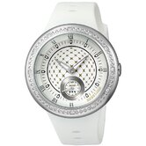 Remix Watch with White Band