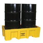 Spill Containment Pallets - 2 drum containment pallet