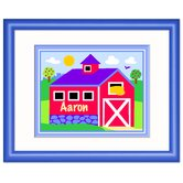 Country Farm Personalized Framed Print