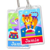 Big Top Personalized Name Tag Set