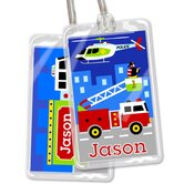 Heroes Personalized Name Tag Set