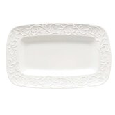 Opal Innocence Carved Hors D'oeuvres Rectangular Serving Tray