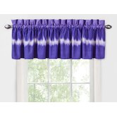 Tie Dye Valance in Purple