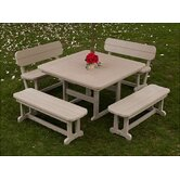 Park 5 Piece Dining Set