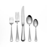 Gorham Fairfax 5 Piece Dinner Flatware Set with Place Soup