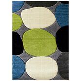 Studio 604 Charcoal Geometric Design Rug