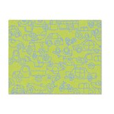 Just for Kids Lotus Green/Ozone Blue Transport Kids Rug
