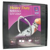 2&quot; EZ View Heavy Duty Reference Binder in Black