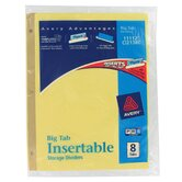 8 Tab Multi-Colored WorkSaver Big Tab Paper Divider