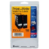 3&quot; Print Or Write Label