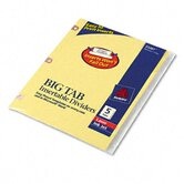WorkSaver Big Tab Paper Dividers