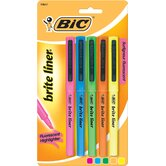5 Count Assorted Brite Hi-Liter