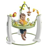 ExerSaucer Jump and Learn Stationary Safari Friends Bouncer