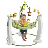 ExerSaucer Safari Friends Jump and Learn Stationary Jumper