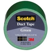 1.5&quot; X 5 Yards Green Tape Cloth 1005-GRN-1P
