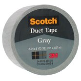 1.5&quot; X 5 Yards Gray Scotch&reg; Duct Tape 1005-GRY-1P