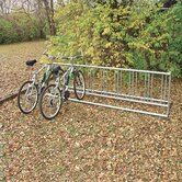 Permanent Double Entry Bike Rack