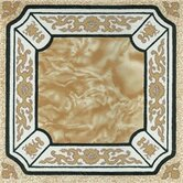 Vinyl Crème Fancy Floor Tile (Set of 20)