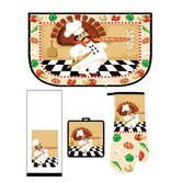 Medley Pizza Pie Kitchen Set (Set of 4)