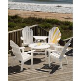 Lifestyle Poly Resin Adirondack Seating Group