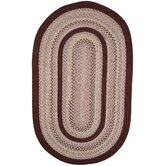 Pioneer Valley II Buckskin with Burgundy Solids Rug