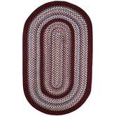 Pioneer Valley II Indian Summer with Burgundy Solids Rug