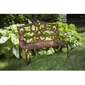 Daffodil Outdoor Bench