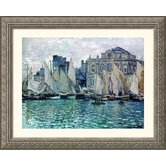 The Museum Silver Framed Print - Claude Monet
