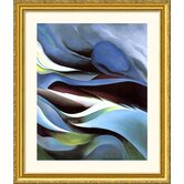 From the Lake No. 1 Gold Framed Print - Georgia O'Keeffe
