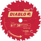 6-1/2&quot; 24T Diablo Circular Saw Framing Blade D0624A
