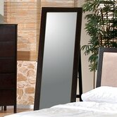 Ventura Standing Floor Mirror in Cappuccino