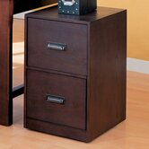 Redding File Cabinet in Wood Grain Finish
