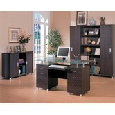 Covina Standard Desk Office Suite