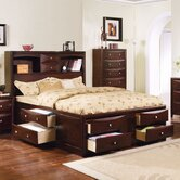 Manhattan Storage Bed in Espresso