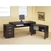 Bicknell Standard Desk Office Suite
