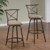 Klinge Barstool in Brown