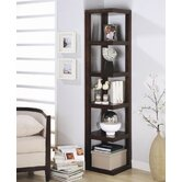 Watsonville Bookcase in Cappuccino