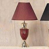 "27"" Table Lamp in Wine"