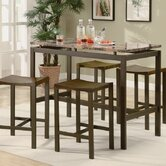 Freedom 5 Piece Counter Height Dining Set