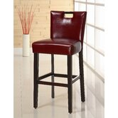 Highland Park Barstool in Red