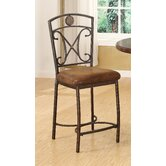 Tavio Scroll Back Counter Height Chair