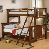 Safford Twin over Full Mission Bunk Bed